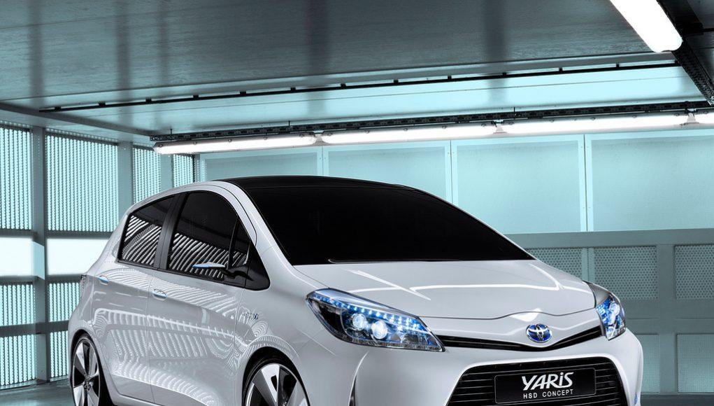 Yaris hybrid concept