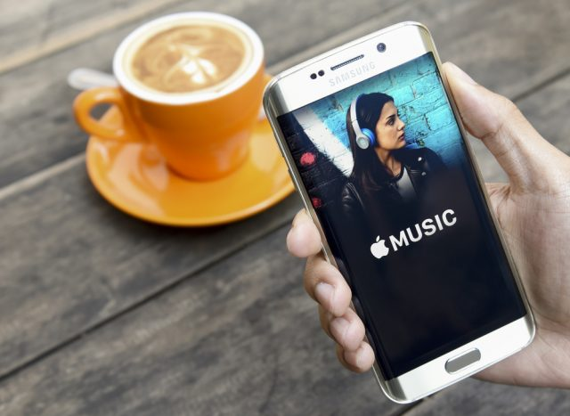 Android using apple music